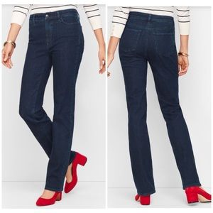 Talbots Barely Boot High Waist Petite Jeans
